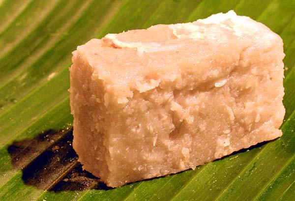 Thai Coconut Custard Cake