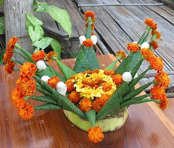Banana Leaf Decoration Ideas For Grahpravesham